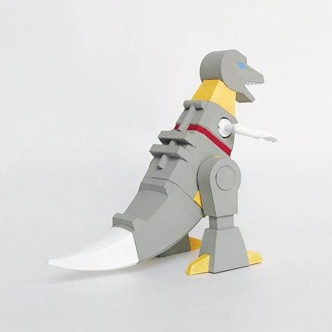 Back Pers_100dpi.jpg Download STL file Grimlock • Model to 3D print, biglildesign