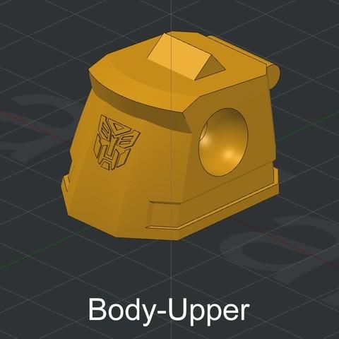 Body-Upper.jpg Download STL file Grimlock • Model to 3D print, biglildesign