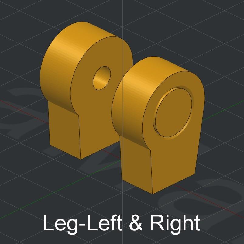 Leg-Left & Right.jpg Download STL file Grimlock • Model to 3D print, biglildesign