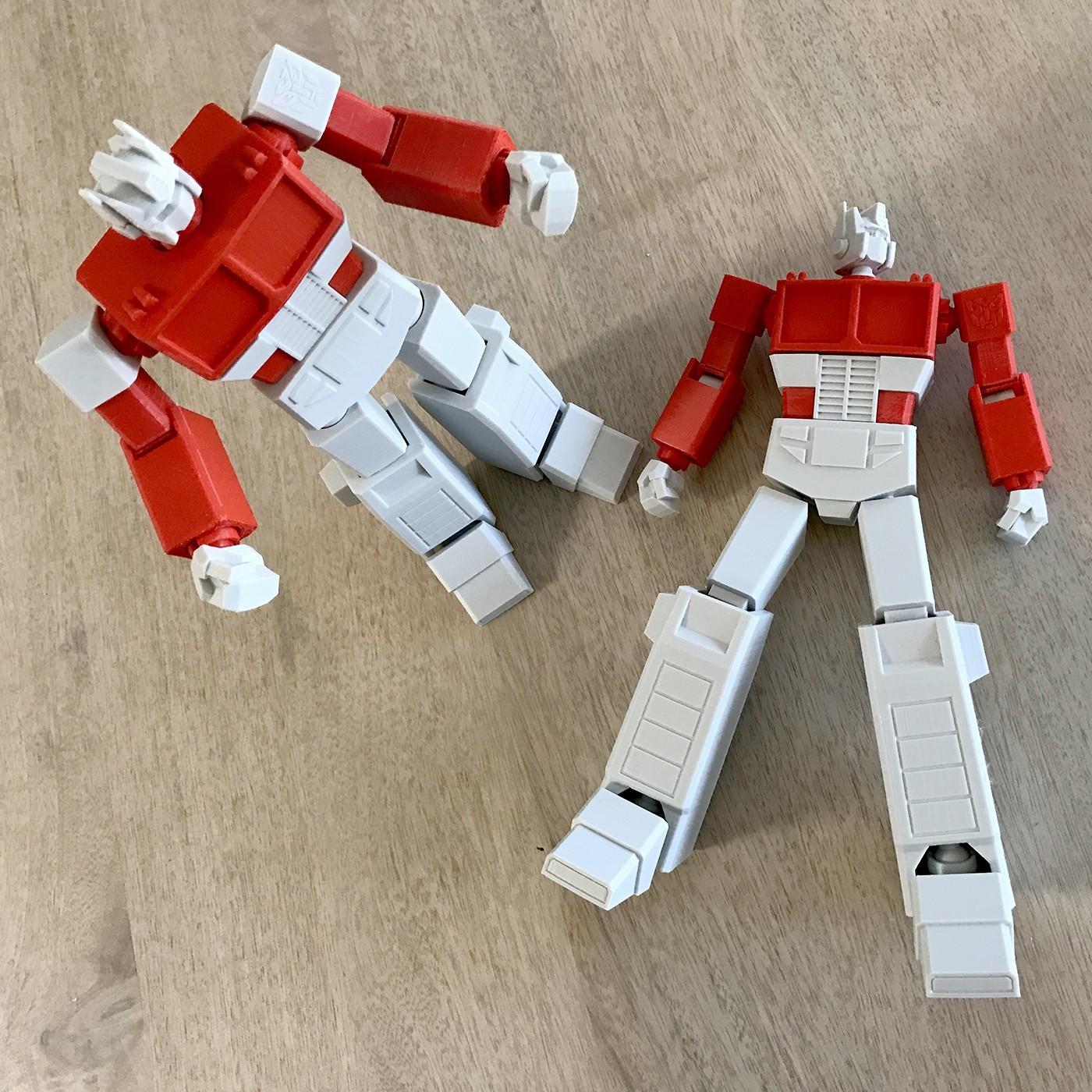 03.jpg Download STL file Low Poly Optimus Prime • Model to 3D print, biglildesign