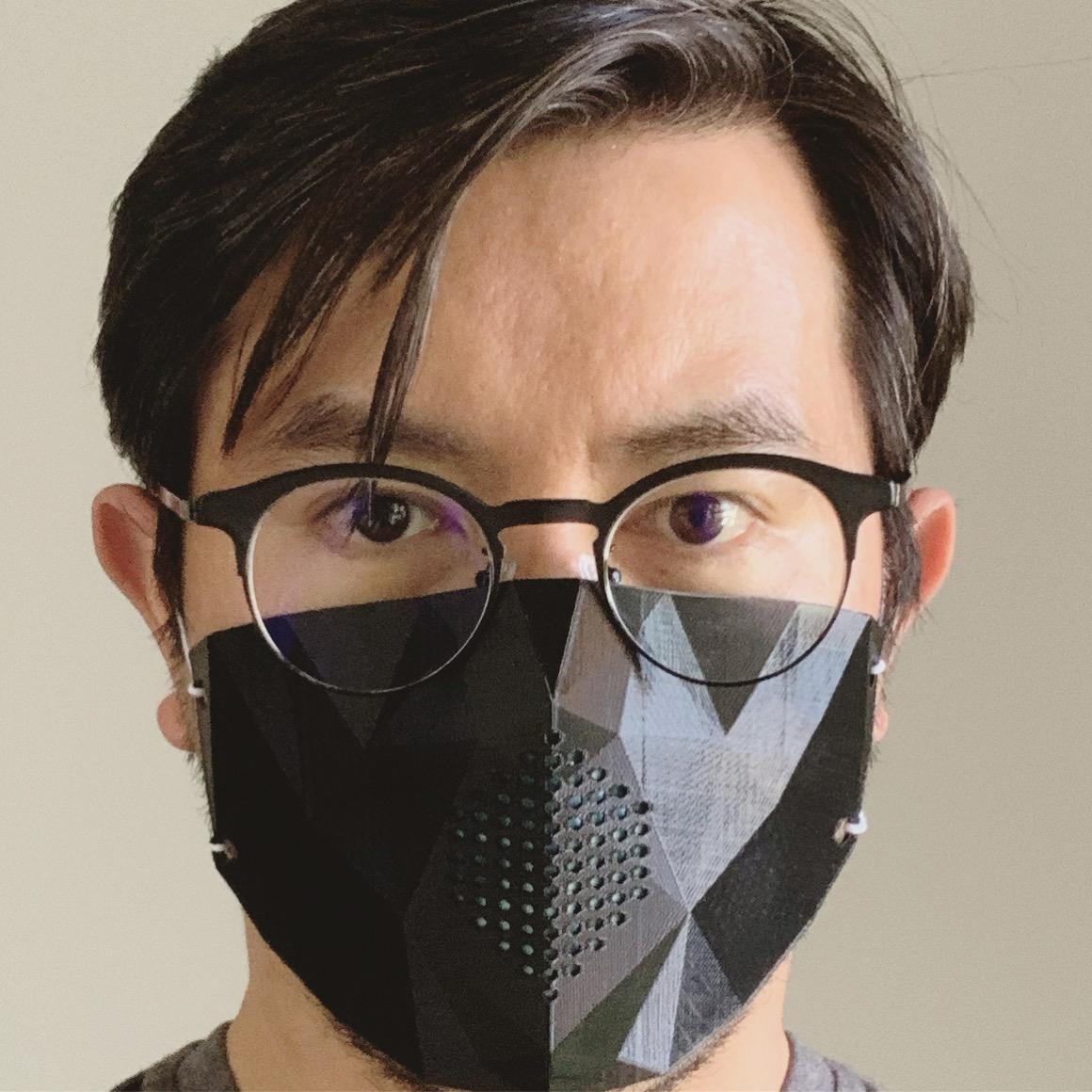 Me.jpg Download STL file Low Poly Masks • 3D printer model, biglildesign