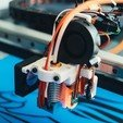 Download free 3D printing designs Flying Bear Tornado Magnetic V6 Hotend Mount, jeh241_makestuff