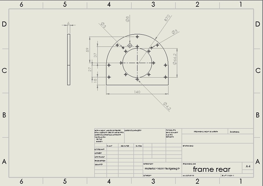 frame rear.jpg Download STL file Water Jet propulsion unit • 3D print design, toto44