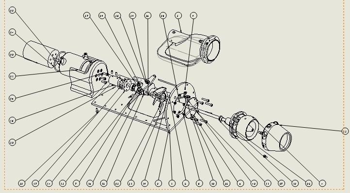 explo new.jpg Download free STL file upgrade parts for Water Jet propulsion unit • 3D printer design, toto44