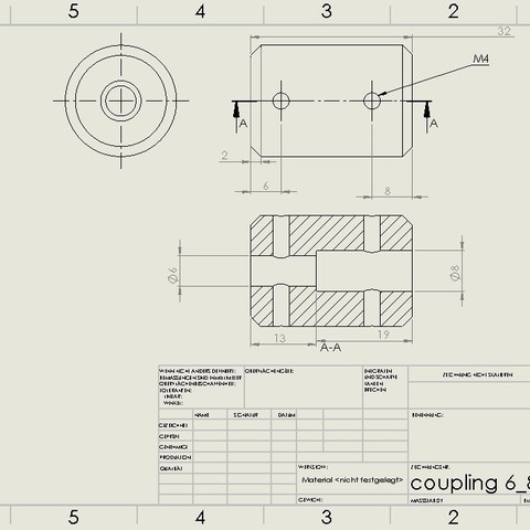 coupling.jpg Download STL file Water Jet propulsion unit • 3D print design, toto44