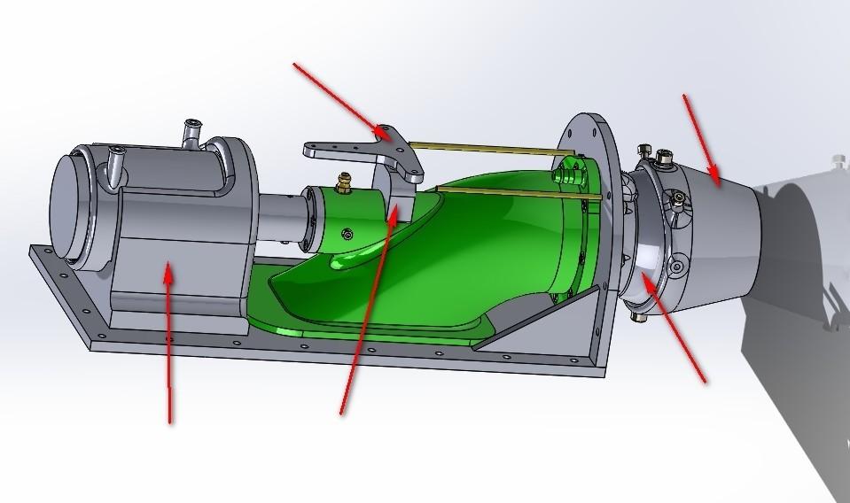 new parts.jpg Download free STL file upgrade parts for Water Jet propulsion unit • 3D printer design, toto44