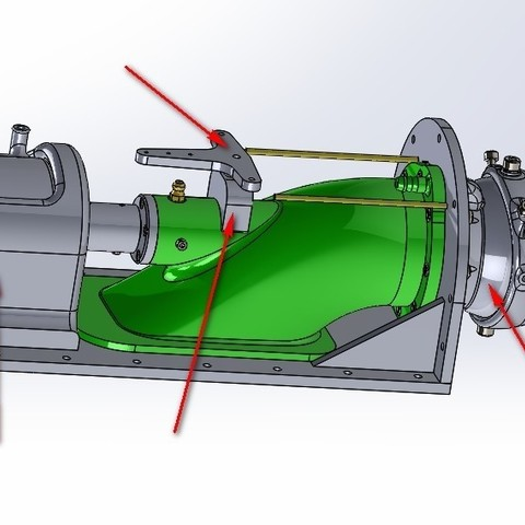 Download free 3D model upgrade parts for Water Jet propulsion unit, toto44