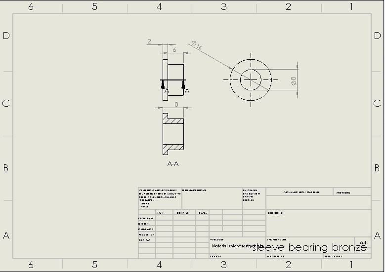 sleeve bearing.jpg Download STL file Water Jet propulsion unit • 3D print design, toto44