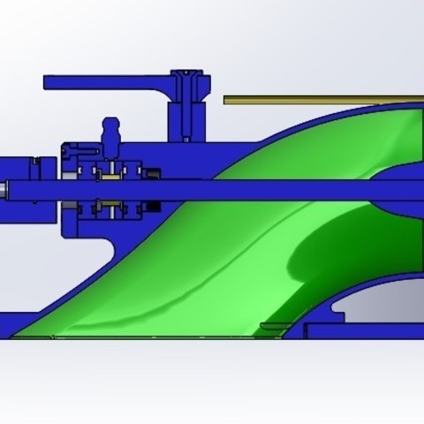 Download STL Water Jet propulsion unit, toto44