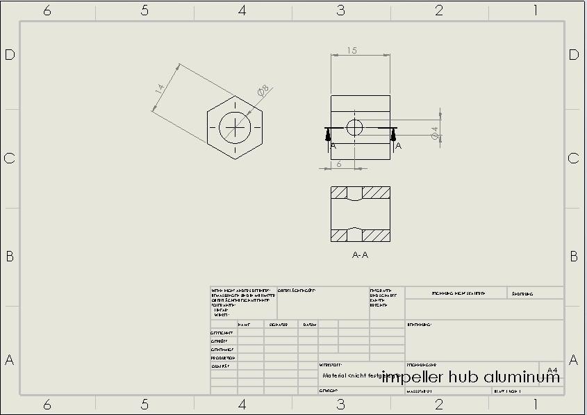 impeller hub.jpg Download STL file Water Jet propulsion unit • 3D print design, toto44