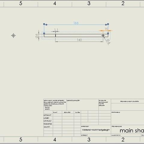 main shaft.jpg Download STL file Water Jet propulsion unit • 3D print design, toto44