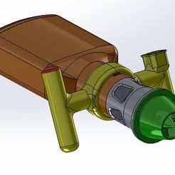 Descargar Modelos 3D para imprimir gratis Scooter bajo el agua, toto44