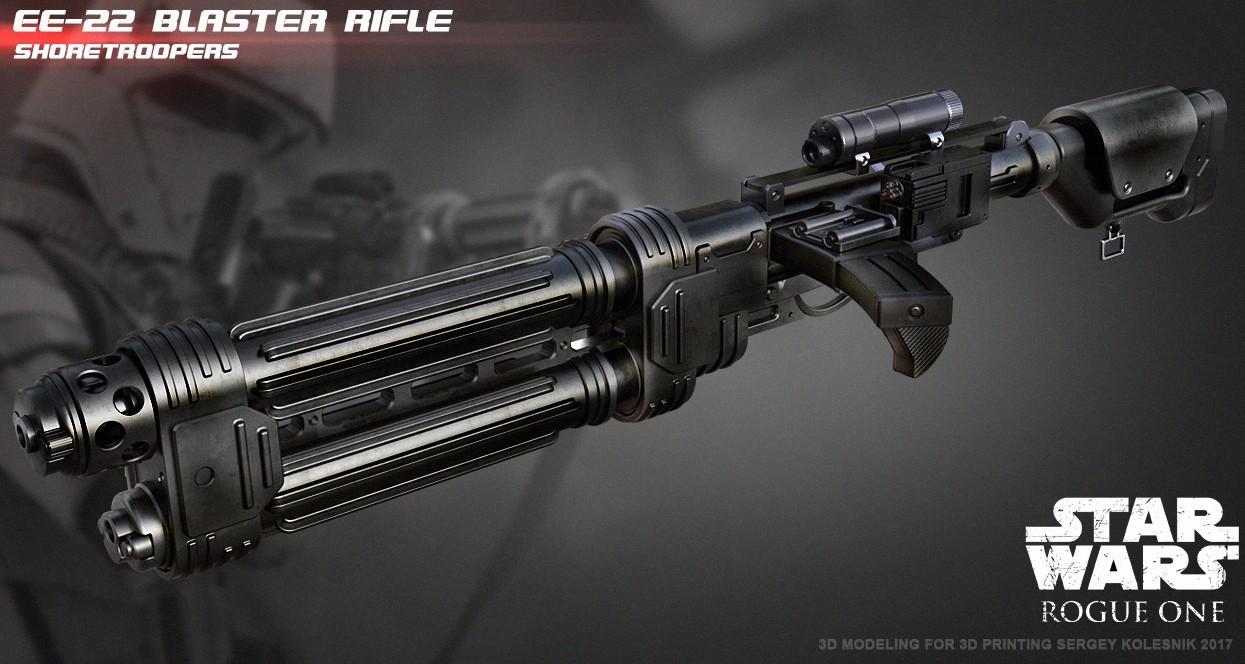r1.jpg Download STL file E-22 Blaster Rifle  • 3D print design, 3dpicasso