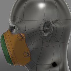 Descargar archivos STL gratis Máscara M2, 3dpicasso