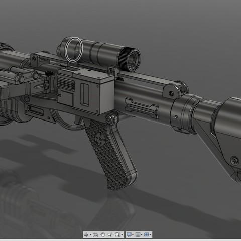 3.jpg Download STL file E-22 Blaster Rifle  • 3D print design, 3dpicasso