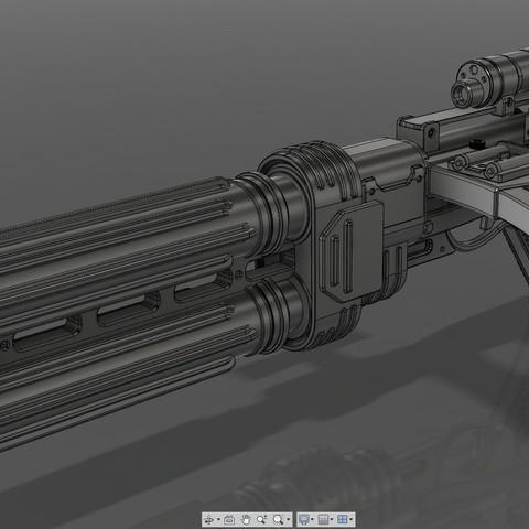 2.jpg Download STL file E-22 Blaster Rifle  • 3D print design, 3dpicasso
