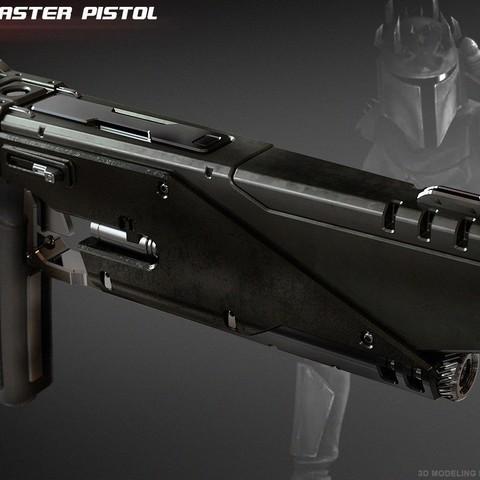 1.jpg Download STL file WESTAR 35 blaster pistol  • 3D printable object, 3dpicasso