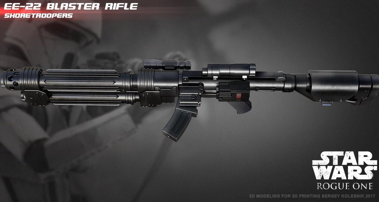 r2.jpg Download STL file E-22 Blaster Rifle  • 3D print design, 3dpicasso