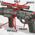 Download STL file EE-4 blaster rifle • 3D printable object, 3dpicasso