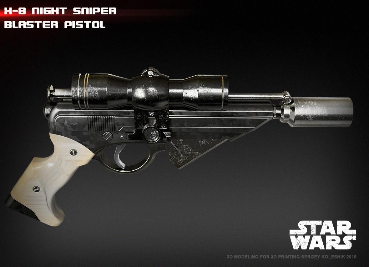 5.jpg Download STL file X-8 Night Sniper • Model to 3D print, 3dpicasso