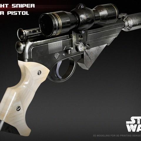 1.jpg Download STL file X-8 Night Sniper • Model to 3D print, 3dpicasso