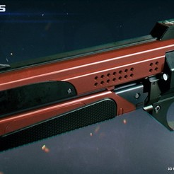 3D print model Better Devils is a Legendary Hand Cannon, 3dpicasso