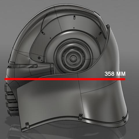 Захват-2.png Download STL file  Starkiller Helmet • Model to 3D print, 3dpicasso