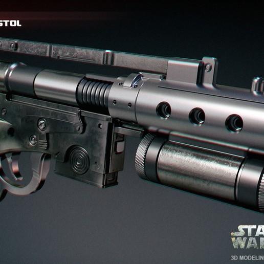 Download STL files Merr-Sonn type CC Blaster Pistol, 3dpicasso