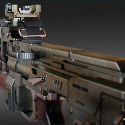 Descargar modelos 3D para imprimir Titanfall 2 Flatline, 3dpicasso