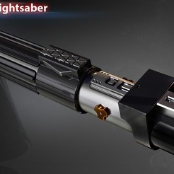 3D print model Darth Vaders lightsaber, 3dpicasso