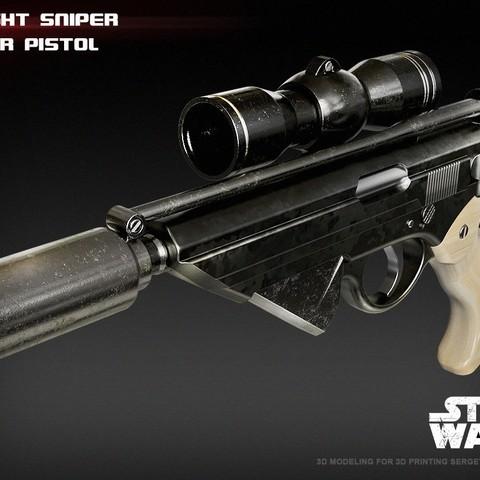 3.jpg Download STL file X-8 Night Sniper • Model to 3D print, 3dpicasso