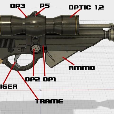 shm.jpg Download STL file X-8 Night Sniper • Model to 3D print, 3dpicasso