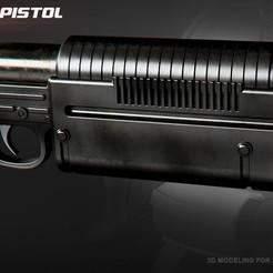 Descargar modelos 3D para imprimir K-16 Bryar pistol, 3dpicasso