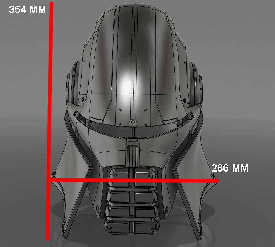 Захват-4.png Download STL file  Starkiller Helmet • Model to 3D print, 3dpicasso