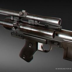Download 3D printer templates SE-14C blaster pistol, 3dpicasso