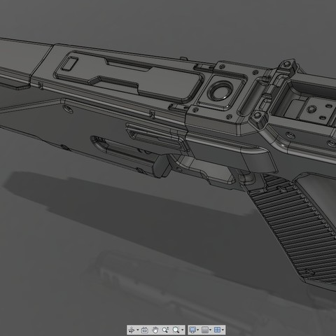 CropImage2.jpg Download STL file WESTAR 35 blaster pistol  • 3D printable object, 3dpicasso