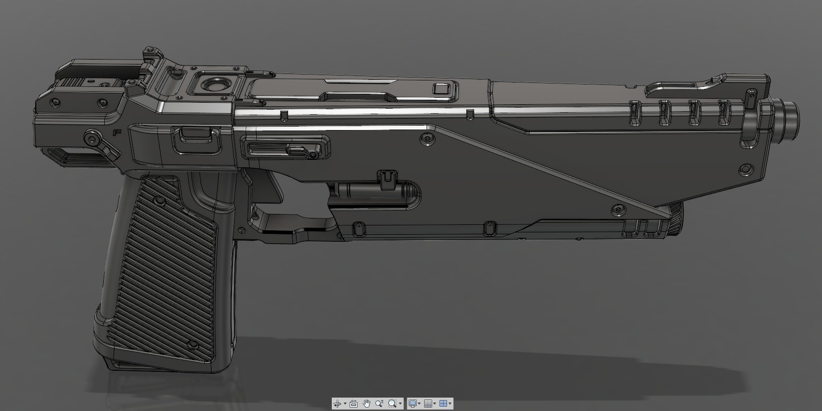 CropImage.jpg Download STL file WESTAR 35 blaster pistol  • 3D printable object, 3dpicasso
