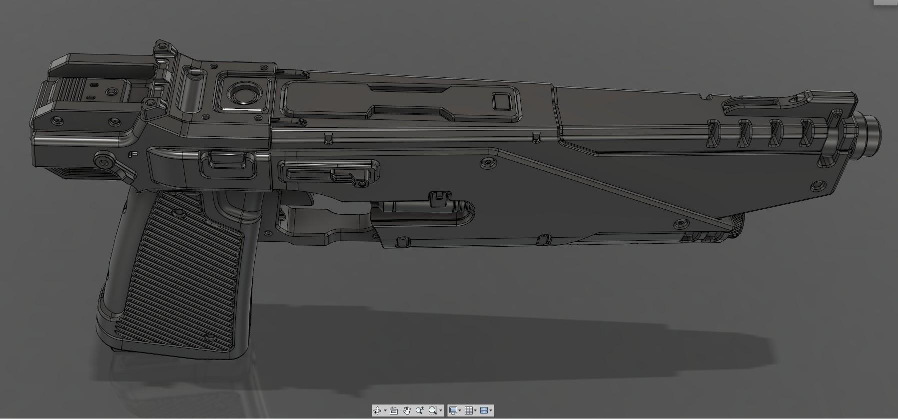 CropImage3.jpg Download STL file WESTAR 35 blaster pistol  • 3D printable object, 3dpicasso