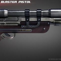 Descargar modelos 3D para imprimir Orson Krennics DT-29 Heavy Blaster, 3dpicasso