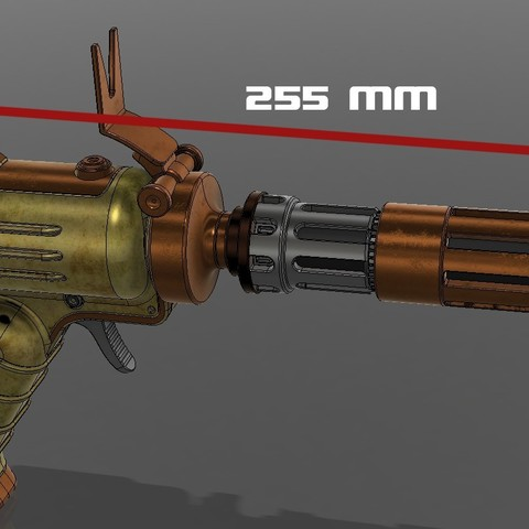 sz.jpg Download STL file Vilmarhs Revenge blaster pistol • 3D printer design, 3dpicasso