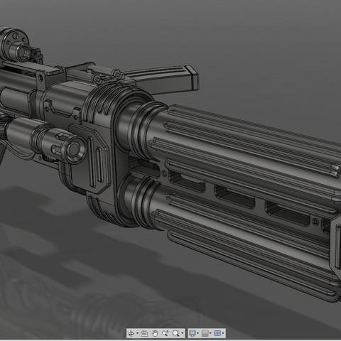 4.jpg Download STL file E-22 Blaster Rifle  • 3D print design, 3dpicasso