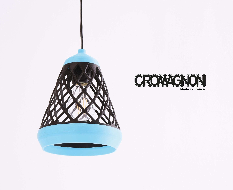Titre-Cromagnon.jpg Download STL file Bi-Colour Suspension • 3D print object, ADL