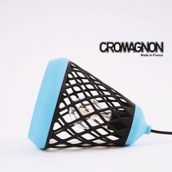 3d print files Bi-Color Suspension, Cromagnon