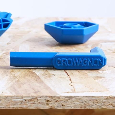 Modelos 3D gratis Llave Cromagnon, ADL