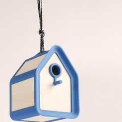Download STL file Bird House • 3D printable template, ADL