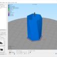 Imprimir en 3D gratis Porta-lápices hexagonal/maceta de cepillos, Nasastrocat