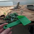 Capture d'écran 2017-03-17 à 19.03.42.png Download free STL file Small poop scoop for reptile habitat • 3D printer object, PRINTinZ