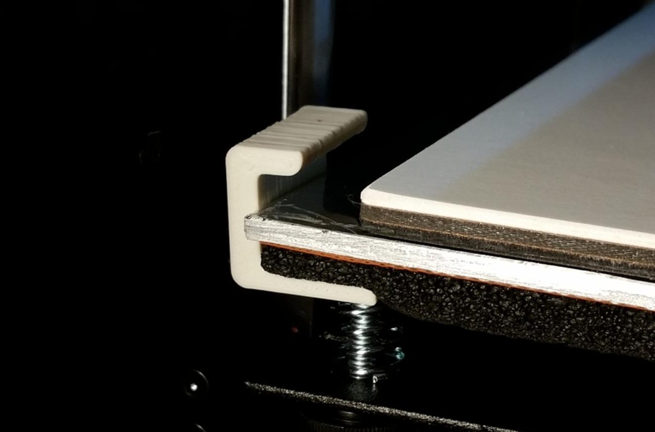 Capture d'écran 2017-02-20 à 10.01.36.png Download free STL file CraftBot Hold Down Clip for PRINTinZ Plate • 3D printable model, PRINTinZ