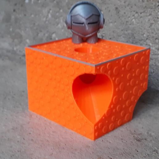Download free STL file THE ORANGE CUBE - MARVIN GAME - LYON • 3D print object, symbo_leo
