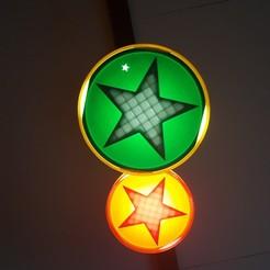 """Télécharger modèle 3D Spot """"étoile"""", bobydelyon"""